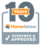 Home Advisor 10 Year Screened and Approved