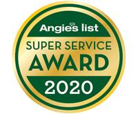 Angie's List Super Service Award Winner 2020