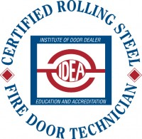 IDEA Rolling Steel & Fire Door Certified