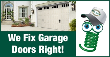 We Fix Garage Doors Right Springy
