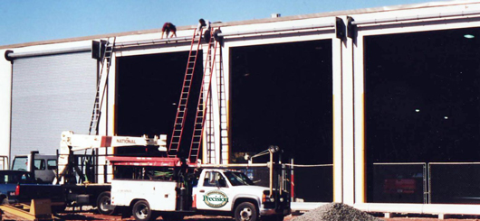 Precision Commercial Garage Doors Rolling Steel Doors Roll Up Doors